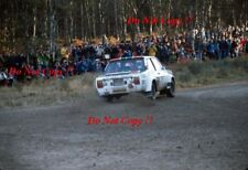 Walter Rohrl ALITALIA FIAT 131 ABARTH RAC Rally 1978 fotografia 4