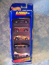1997 Hot Wheels~G-Force~ 5 Pack Gift Set~NIB