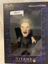 "Buffy the Vampire Slayer Titans Vinyl Figures "" Spike "" 4.5"" Tall Unopened"