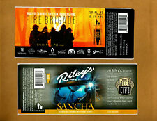 Set Of 6 Rare Micro Beer Labels Riley's Madera Ca !