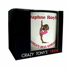 Personalised Female Gymnastic Gifts, Ladies And Girls Personalised Gymnastic Mug