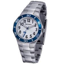 TIME FORCE TF-3386B02M RELOJ CADETE  ACERO 50M COLECCION CHRISTIANO RONALDO