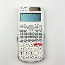 CASIO FX-115ES PLUS Scientific Calculator Natural - VPAM White Cover Slide On