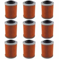 9-Pack Oil Filter Filters for 01-17 Can-Am DS650 Renegade 500 570 800 850 1000