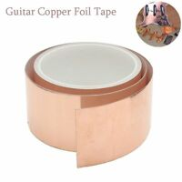Cinta de aluminio de cobre Blindaje electromagnetico Guitarra accesorios