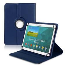 Tablet Tasche für 10 10.1 Zoll Universal Cover 360° Hülle Ständer Case Etui Blau