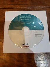 CISCO 4034136 Rev C DPC/EPC3825 Cable Modem Software CD-ROM