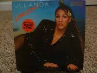 ULLANDA Love Zone PROMO LP on Ocean Ariola Funk/Soul/Disco EX Vinyl