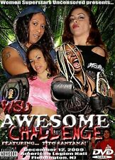 WSU Womens Wrestling - Awesome Challenge DVD Kong Kharma Jazz ECW