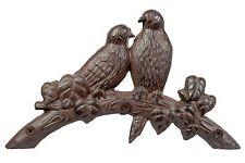 Hose Holder Cast Iron Birds Decorative Hose Reel Hanger Antique Rust