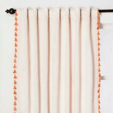 """Large Curtains Champagne Gold Crushed Velvet Cotton Lined Heavy102/""""W 113/""""D"""