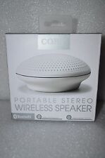 Coby Bluetooth Portable Rechargeable Stereo Wireless Speaker