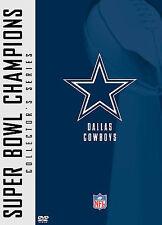 NFL Super Bowl Collection: Dallas Cowboys (DVD, 2005, 2-Disc Set)BRAND NEW