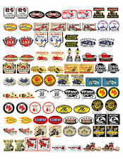 NOSTALGIC SPEED SHOP DECALS (1:18 SCALE, VOL. 2, H-R) GASSER, HOT ROD, RAT ROD