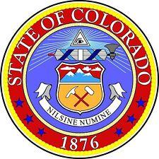 Premium autocollant Blason de Colorado usa voiture moto autocollants des autocollants