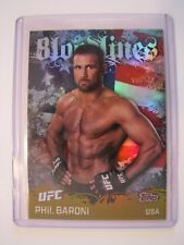 2010 Topps UFC PHIL BARONI BloodLines BL-3 USA