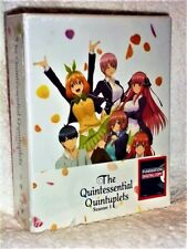 The Quintessential Quintuplets (Blu-ray/DVD, 2020, 4-Disc LIMITED EDITION) anime