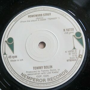Tommy Bolin - The Grind (1975) - 7'' vinyl