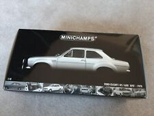 1:18 Minichamps 1970 Ford Escort AVO 1600 RS Wide Body Silver