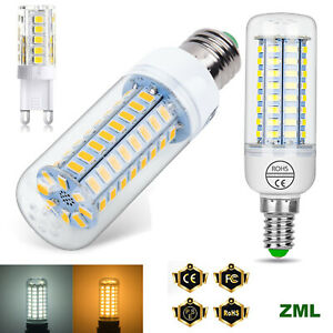 E27 E14 G9 LED Corn Bulb 5W 7W 12W 15W 20W 25W 5730SMD Globe Lamp Spot Light NEW