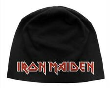 Iron Maiden Silk Screened Beanie I001BEAN Slayer Metallica Megadeth