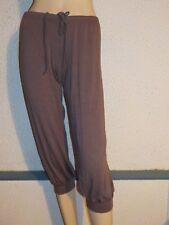 pantalon de danse, pantacourt, corsaire  DANSCO PE344, Lie de vin en  S