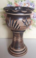 Blumenvase, braun ,Westerwald Keramik.ca.25 cm hoch ,
