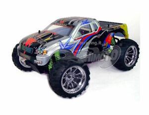 Monster Truck Nitro 1:10 Eldorada Engine 3cc .vtx 18 Radio 2.4GHZ Rtr HIMOTO
