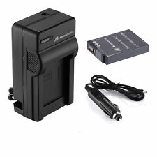 EN-EL12 Battery & Charger for Nikon Coolpix AW130 AW120 AW110 AW100 S9900 S9700