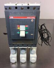ABB SACE Tmax Model T5H D 600 Circuit Breaker 3 Pole 600V 600Amps Max.  5E