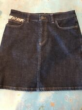 NWOT Burberry Denim Jean Skirt  Perfect Condition 4