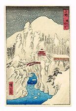 1930's Japan Japanese Woodblock Wood Block Print Vintage Old Antique item #11