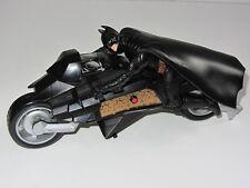 DC Batman Dark Knight Movie Toy     BATMAN on BATCYCLE