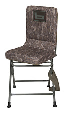 BANDED SWIVEL BLIND CHAIR PAD SEAT HUNTING STOOL REALTREE BOTTOMLAND CAMO TALL!