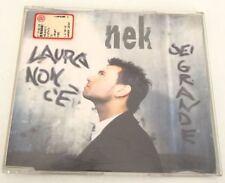 NEK LAURA NON C E, SEI GRANDE CD SINGOLO 1997 OTTIMO ITALIANO SINGLE!