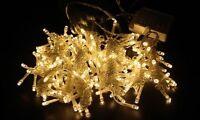 3M 6M LED Indoor Outdoor Curtain Wedding String Fairy Light Xmas Party UK PLUG