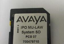 Avaya Ip 500 V2 Sd Card 700479710 Release 80 Essentials Edition License 3097
