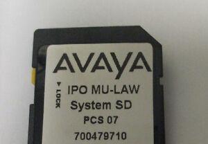 Avaya IP 500 V2 SD Card 700479710 Release 8.0 Essentials Edition License #3097