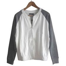 genial BOMBER Blouson Jacket COLLEGE Retro SWEATJACKE JACKE Gr.40 L