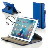Forefront Cases® Blue Rotating Smart Case Apple iPad Pro 9.7 2016 Stylus