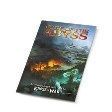 BORDE DEL ABISMO-libro De Campaña-Reyes De Guerra-Mantic-Suplemento