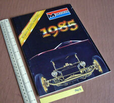 1985 Vintage Monogram USA Plastic Kit Catalogue. 40th Anniversary Issue   (943)