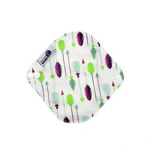 Cloth Menstrual Pads Bamboo Charcol Reusable Sanitary Pad Arrows LIGHT