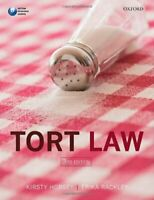 Tort Law By Kirsty Horsey, Erika Rackley. 9780199661893