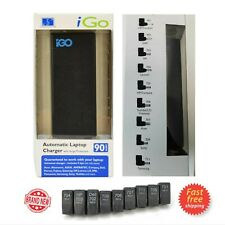 iGo AUTOMATIC Universal Laptop Charger Surge 19V 90W DELL HP LG LENOVO ASUS ACER