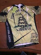 Don't Tread on Me Weimostar Cycling Jersey Size L Men Jerseys America New Tag