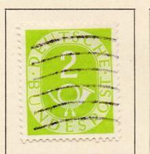 Alemania 1951 Posthorn problema Fine Used 2pf. 225570