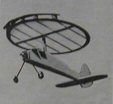 """Parasol Plane 15"""" Round Wing * Steep Climber * How-To build PLANS"""