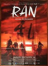 Poster Ran Tatsuya Hours Akira Kurosawa Samurai 47 3/16x63in