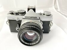 Olympus OM-2 Film Camera & 50mm f1.8 Lens, New Seals, Meter Working
